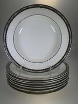 Royal Doulton Southhampton Rimmed Soup Bowls Set of 8 - $44.56