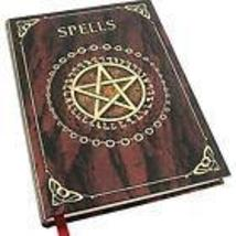 Red Pentagram Spellbook BOS Journal - $16.00