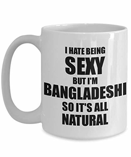 Primary image for Sexy Bangladeshi Mug Funny Gift for Husband Wife Bf Gf Bangladesh Pride Novelty