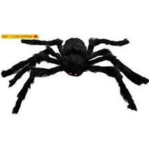 Aobor Large Plush Spider Halloween Decoration Haunted House Scary Outdoo... - $18.20