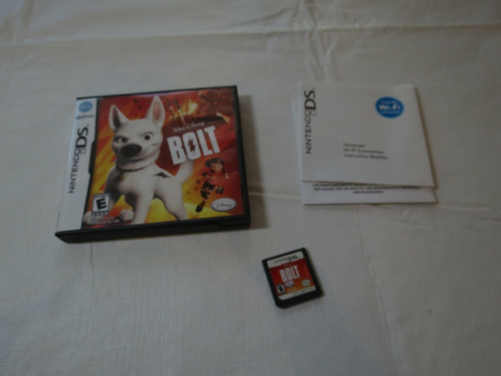 Bolt (Nintendo DS, 2008) Walt Disney Game boy everyone pictures gamer