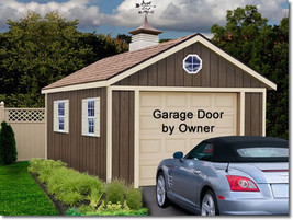 Best Barns Sierra 12x24 Wood Storage Garage Shed Kit - ALL Pre-Cut - $4,070.19