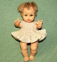 1964 Ideal TEARIE DEARIE DOLL with SQUEAKER Vintage Baby Sleepy Eyes Eye... - $24.75