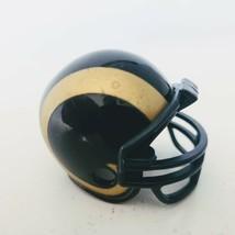Riddell Los Angeles St Louis Rams Pocket Pro Mini Football Helmet 2011 Nfl - $5.89