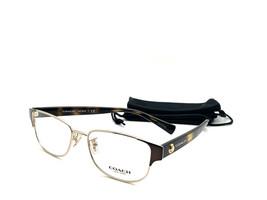 COACH EYEGLASS FRAME HC5079 9258 BROWN GOLD & TORTOISE 53-16-135 NEW AUT... - $58.17