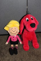 Clifford the Big Red Dog Emily Elizabeth and Clifford Plush Stuffed Animal Figur - $23.95