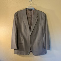 Jos. A. Bank Men's Sport Coat Size 48L 2-Button Fully Lined Taupe Tan Cl... - $41.58