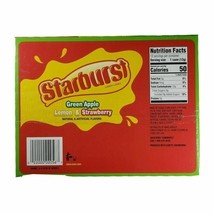 2 Pack Lot - Starburst - Green Apple, Lemon and Strawberry Candy Canes 24 Total image 2
