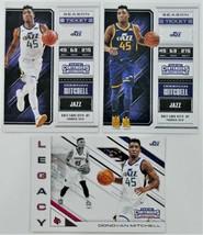 2018 DONOVAN MITCHELL Panini Contenders Draft Picks Basketball Cards - $9.00