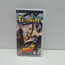 "GripShift Sony Playstation PSP case and manual ""ONLY "" - $5.36"