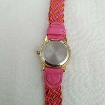 Time4Kidz Watch - Valdawn Vintage Water ressistant  Pink Leather Strap image 5