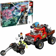 Lego hidden side of stunt truck fire construction reality increases - $113.32