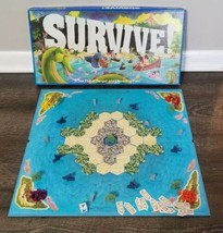 Survive! Board Game Parker Brothers 1982 100% Complete Amazing Condition  - $37.39