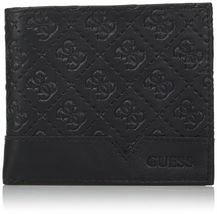 Guess by Marciano Men's Leather Billfold Zipper Coin Pocket Wallet 31GU130027 image 6
