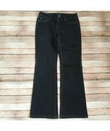 White House Black Market Blanc Bootleg Women Denim Jeans Size 6s  - $13.12