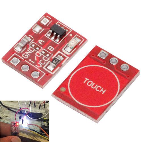 10x TTP223 Touch Schlüsselschalter Modul Berühren Taste Kapazitiven Schalter ...