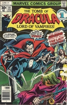 (CB-9) 1977 Marvel Comic Book: The Tomb of Dracula #59 - $20.00