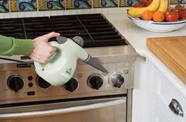 Handheld steam cleaner stove thumb200