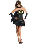 Secret Wishes Women's Batgirl Black Corset Tutu Adult Costume, S, M, L - $52.91+