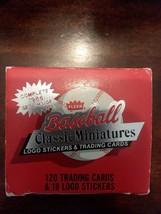 1986 Fleer Classic Miniature 120-card Baseball Factory Set-JOSE CANSECO ... - $4.94
