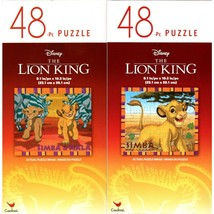 The Lion King - 48 Pieces Jigsaw Puzzle - v2 (Set of 2) - $14.99