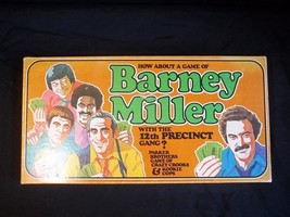 Barney Miller 12th Precinct Game Parker Brothers 1977 Complete - $19.75