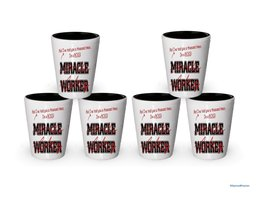 I'm Boss shot glass- Not a Miracle Worker -Boss Gifts (6) - $29.35