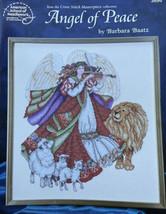 Angel of Peace Cross Stitch Leaflet 3696 Barbara Baatz New 1997 - $6.90