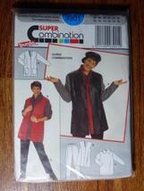 Burda Sewing Pattern 3901 Size 10-20 UNCUT Super Combination Full Outfit  - $9.68