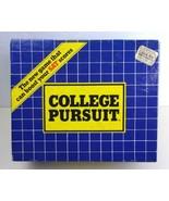 COLLEGE PURSUIT Game - 1985 - Boost Your SAT Scores  - $15.72