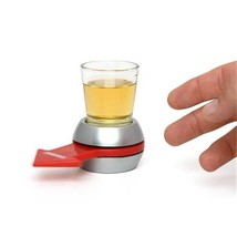 Spin The Shot Glass Drinking Game Fun Turntable Toys Game Shot Spinning ... - $9.49