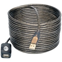 Tripp Lite U026-016 USB 2.0 Active Extension Cable, 16ft - $34.69