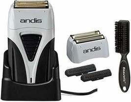 Andis Pro Lithium Plus Titanium Foil Shaver with Bonus Replacement Foil 17200 - $79.19