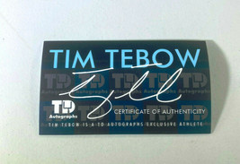 TIM TEBOW / AUTOGRAPHED INSCRIBED GAME USED B45 BASEBALL BAT / TEBOW HOLOGRAM image 12
