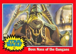 2004 Topps Heritage Star Wars #70 Boss Nass Of The Gungans - $0.99