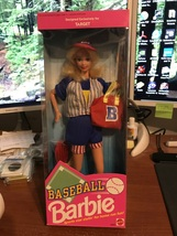 1992 Mattel Target Exclusive Baseball Barbie Doll #4584 NIB - $16.95