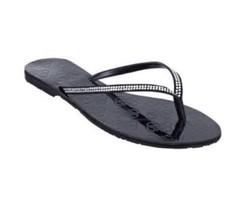 Guess  Black Laidley 2 Suede Flip Flops - $90.49