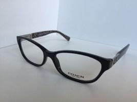 New  COACH HC 6061 5261 Emma Black Military Sand 52mm Women Eyeglasses Frame  - $119.99