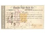 RN-T4 Panama Rail Road Co. Stock Certificate 1871, Henry Aithen, New Yor... - $1.669,25 MXN