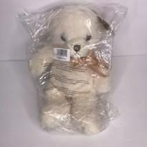 "Aurora Ashford Super Soft Teddy Bear Ivory Off White Tan NEW Plush 10""  - $19.26"