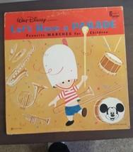 Walt Disney Let's have a Parade Record Disneyland Records 1964 Vintage - $9.75