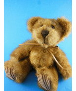 """Minky Plush Teddy Bear 7"""" sitting size faux mink plush by First and Main - $11.87"""
