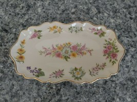 Lenox The Constitution Candy Dish Limited Edition 1996 Ivory Floral Gold Trim sh - $37.62