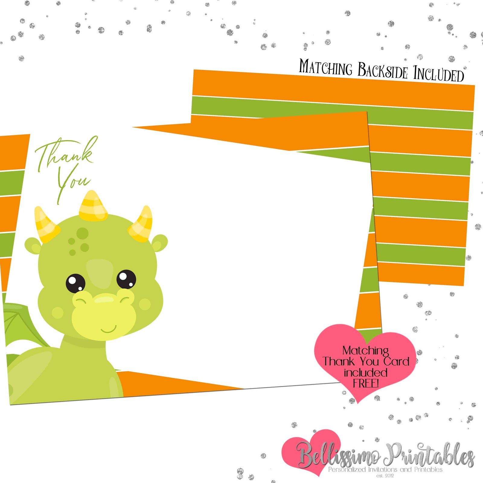 Dragon Birthday Invitation Dragon Party and 50 similar items