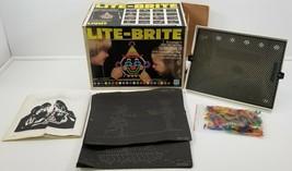 N) Vintage 1981 Hasbro Lite Brite Pegs Hasbro Toy Game in Box 5455 - $49.49