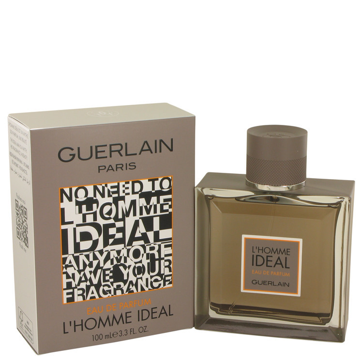 Guerlain L'Homme Ideal Cologne 3.3 Oz Eau De Parfum Spray