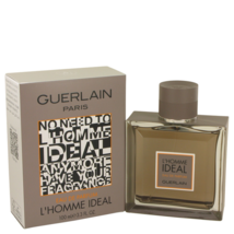 Guerlain L'Homme Ideal Cologne 3.3 Oz Eau De Parfum Spray image 1