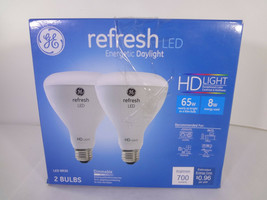 GE Refresh LED Energetic Daylight LED BR30 2 Bulbs Dimmable {EH-G} - $14.03