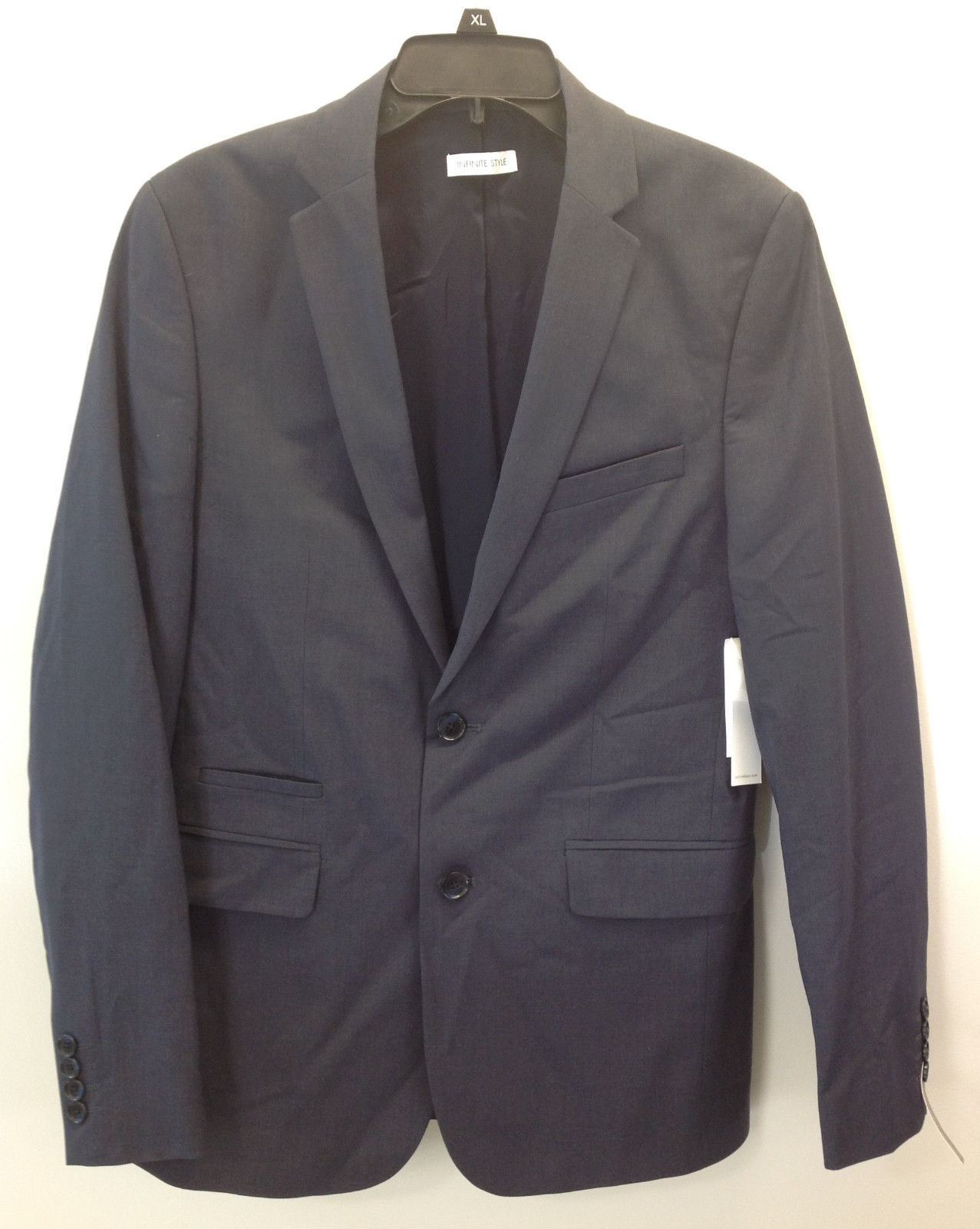 Calvin Klein Men's Infinity Style Jacket,Navy,  Size M, Regular, MSRP $198