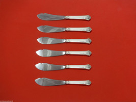 Damask Rose by Oneida Sterling Silver Trout Knife Set 6pc HHWS  Custom Made - $398.05